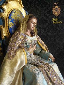 Virgen Reina (Siglo Barroco)