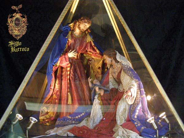 Boceto del Belén destinado a ayunamientos (Siglo Barroco)